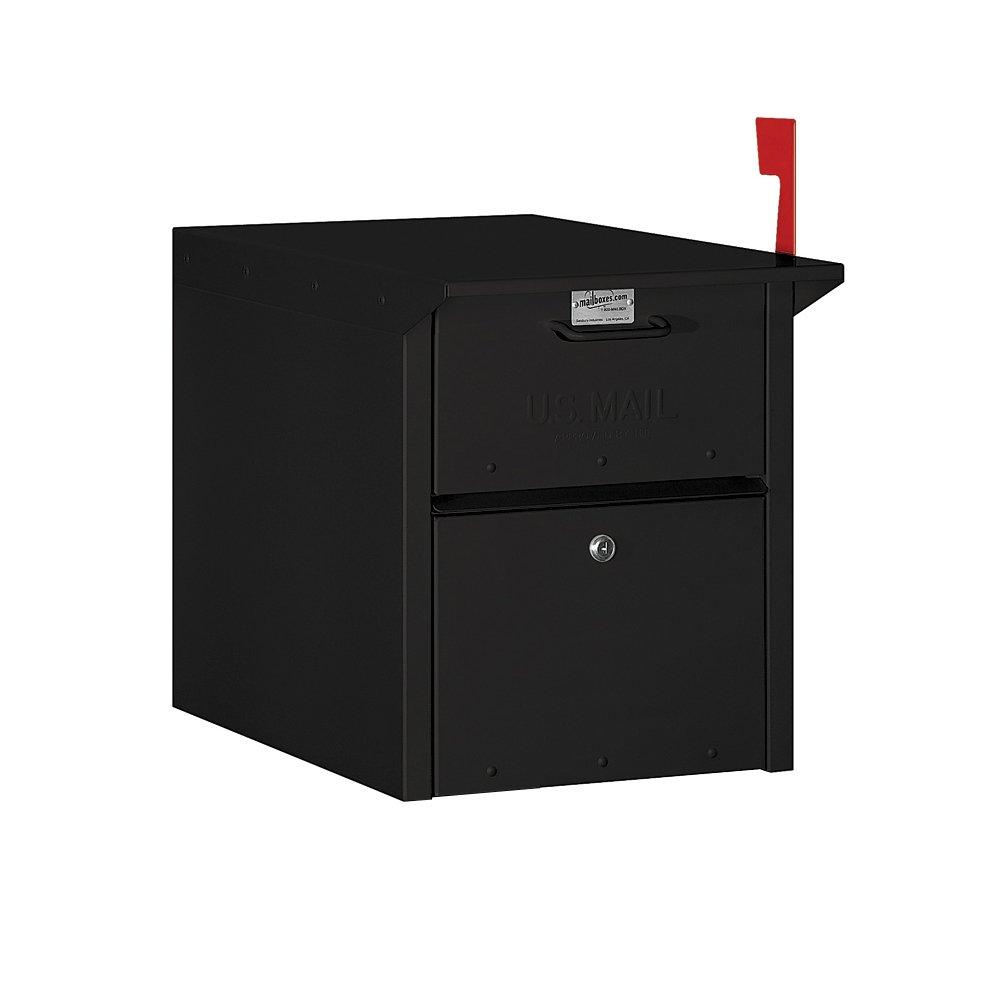Salsbury Industries 4350BLK Mail Chest, Black
