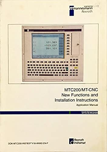 mtc200 mt cnc new functions and installation instructions rh amazon com Indramat Cable Indramat CNC Controller