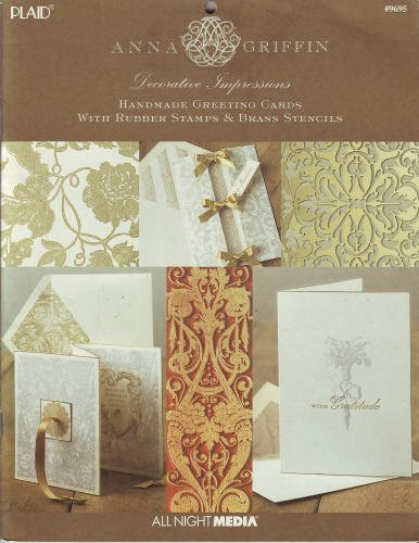 Decorative impressions: Handmade greeting cards with rubber stamps  brass stencils