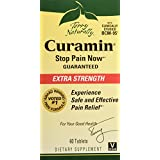 Terry Naturally Curamin Extra Strength, Safe and Powerful Pain Relief with BCM95 Curcumin 60 Tabs