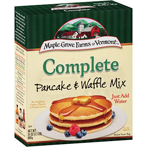 Maple Grove Farms, Complete All Natural Pancake & Waffle Mix, 24 Ounce (Pack of -