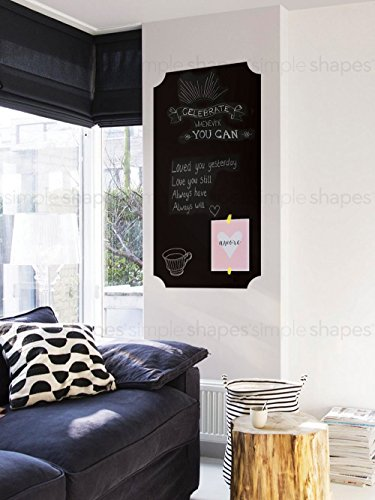 Chalkboard Wall Decal Elegant Style product image