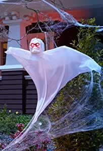 3ft Hanging Ghost with Strobe Light (Standard)