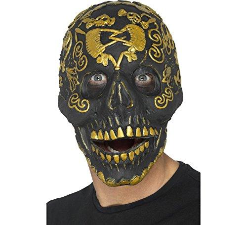 Deluxe Masquerade Mask Skull