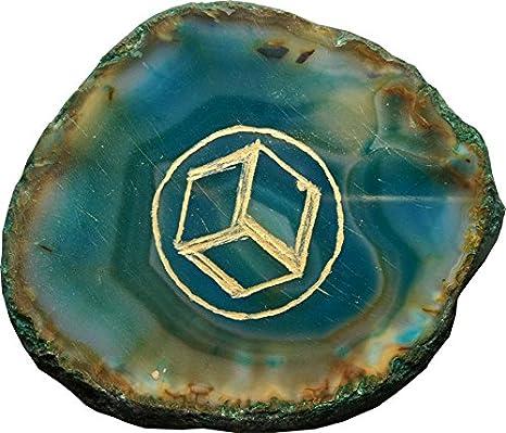 Aldomin Antahkarana A Powerfull Healing Symbol Agate Stone 40