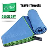 MKOOL Microfibre Towel with Zip Carry Bag(28