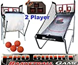 MD Sports Basketball Pro Court 2-Player w/ 8 Games Electronic Scoreboard