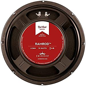 Amazon.com: Eminence Red Coat Ramrod 10 Inch Guitar Speaker 75