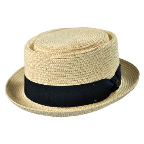 Jaxon Hats Toyo Braid Pork Pie Hat (X-Large, - Breaking Pie Bad Hat Pork