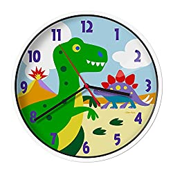 Wildkin Wall Clock, Dinosaur Land