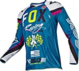 Fox Racing 360 Rohr Men's Off-Road Motorcycle Jerseys - Teal/X-Large