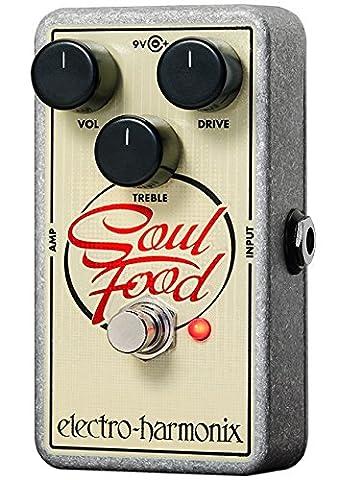 Electro-Harmonix Soul Food Distortion/Fuzz/Overdrive Pedal (Bass Pedal Fuzz)