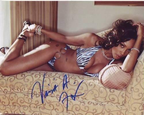 VIVICA A. FOX signed autographed SEXY BIKINI photo (1)