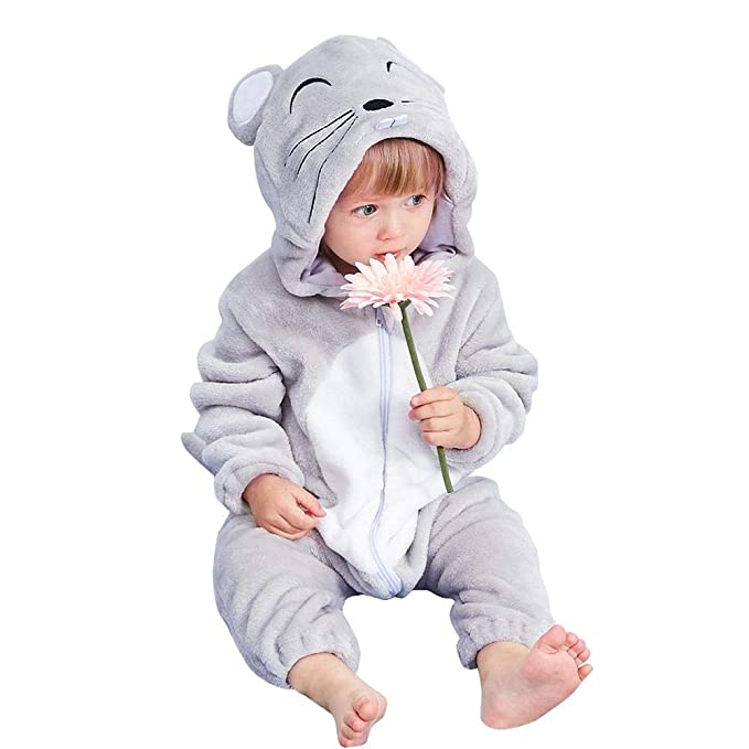 e56ef23ce4fc Amazon.com  Domybest Rompers for Baby Girls