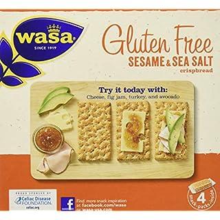 Wasa Gluten Free Sesame & Sea Salt Crispbread, 10 Count