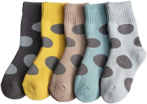 CHUHUI子供用靴下ベビーミドルチューブ綿のループを厚く男女秋と冬