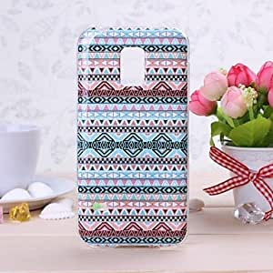 National Style Pattern TPU Soft Case for Samsung GALAXY S5 Mini