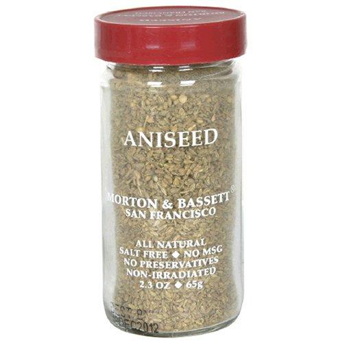 Morton & Bassett Aniseed, 2.3-Ounce Jars (Pack of 3) by Morton & Bassett
