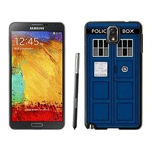 New Fashion Custom Designed Cover Case For Samsung Galaxy Note 3 N900A N900V N900P N900T With Doctor Who Tardis Black Phone Case