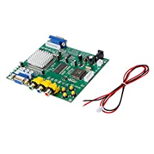 XCSOURCE GBS8200 RGB/CGA/EGA/YUV TO 2 VGA Output D Arcade Video Converter Board Moudle for CRT/ LCD/ PDP Monitor AC807