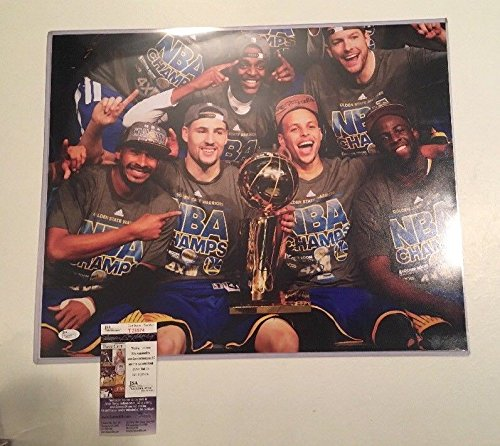 Stephen Steph Curry Warriors Basketball Auto Autographed Signed 16x20 Photo JSA Cert (Signed Autographed Photo Basketball)