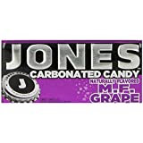 Jones Soda Candy Grape Carbonated Candy, 0.89-Ounce Tins (Pack of 16)