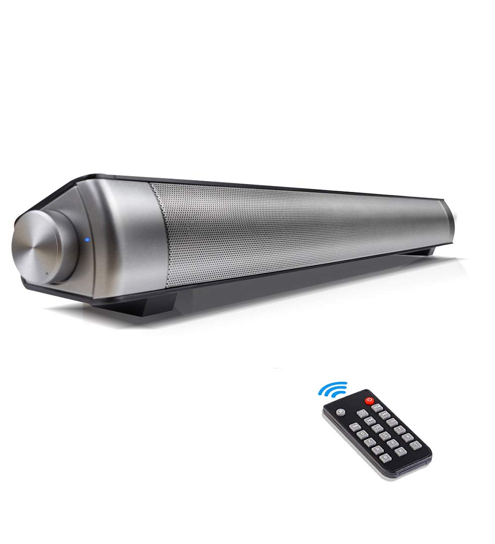 Sound Bar, Soundbar with Subwoofers Wireless Bluetooth Speaker for TV with Remote Controller 3D Surround by AGKupel