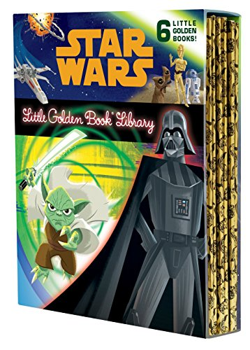 The Star Wars Little Golden Book Library (Star Wars) (Best Star Wars Gifts For Kids)