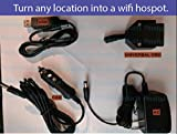 PeraltaProducts USB, 12V Car, AC home bundle combo for AT&T ZTE Mobley OBD LTE Hotspot power OBD2 Unlimited Data All in one