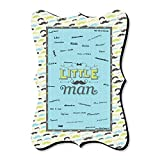 Dashing Little Man Mustache Party - Unique Alternative Guest Book - Baby Shower Or Birthday Party Signature Mat