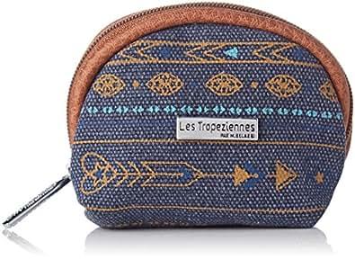 Les Tropéziennes Esc08-tz-blue - Monedero de Lona Mujer Azul ...