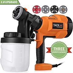 Tacklife - Professional team on Amazon, which deals only with development of the tools. We commit ourselves to using qualitative tools to improve the quality of life.Features:Detachable design All parts of the paint gun can be easily separate...