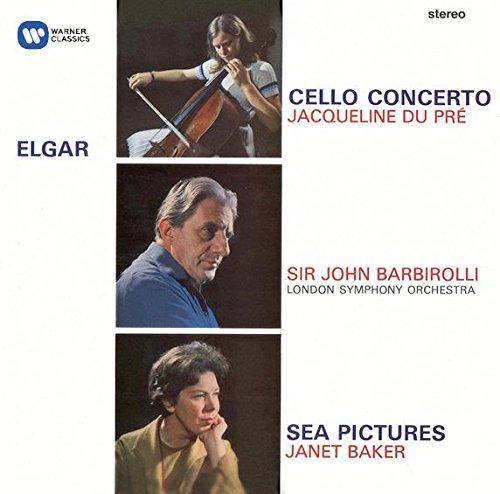 CD : Jacqueline du Pré/Dame Janet Baker/Sir John Barbirolli - Cello Concerto / Sea Pictures / Overture: Cockaign (CD)