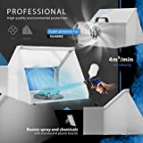 VIVOHOME Portable Airbrush Paint Spray Booth Kit