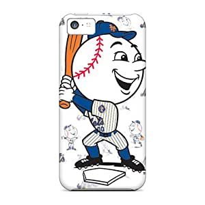 Durable Hard Phone Cases For Iphone 5c (NjM11887RzMb) Unique Design Lifelike New York Mets Skin