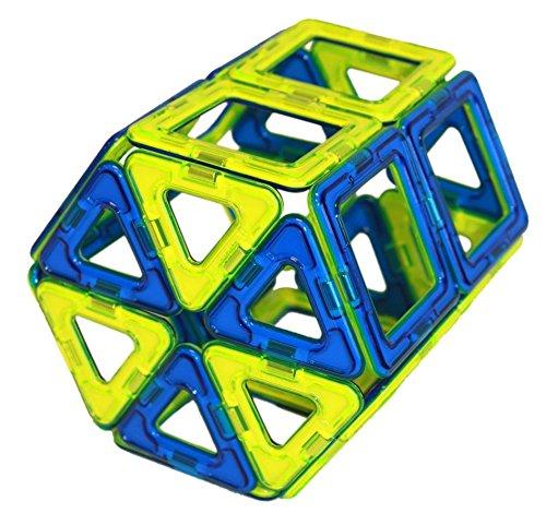 Magformers Classic (30-pieces) Set Magnetic Building Blocks, Educational Magnetic Tiles Kit , Magnetic Construction STEM Toy Set