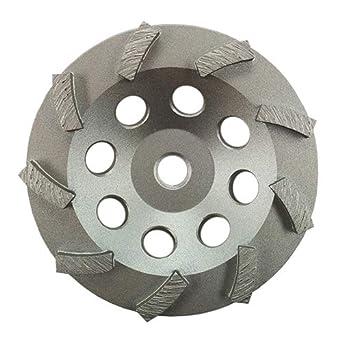 "5//8""-11 Threads 5"" Arrow Segment Diamond Grinding Cup Wheel for Concrete"