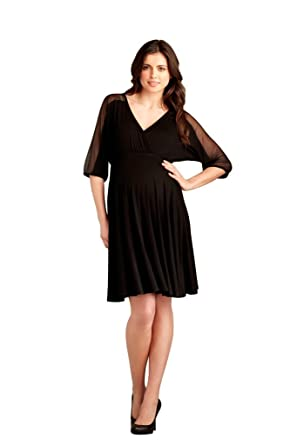 3e5802a93be3 Dolman Sleeve Maternity Dress (Medium) at Amazon Women s Clothing store