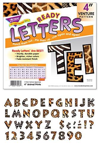 TREND enterprises, Inc. Animal Prints 4 Venture UC Ready Letters