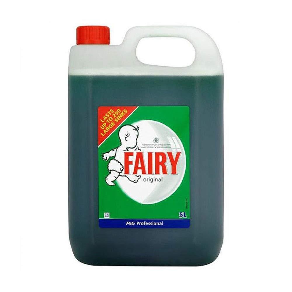 Fairy Líquido para lavavajillas Original 5 litros Ref VPGFAL5 ...
