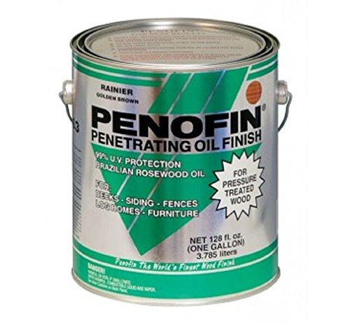 Penofin F3pttga Transparent Oil-based Pressure Treated Wood Stain, Tahoe, 1 ()