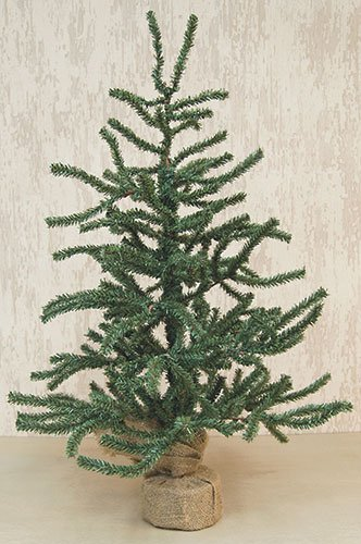 Heart of America Pine Tree With Burlap Base 3 Ft.