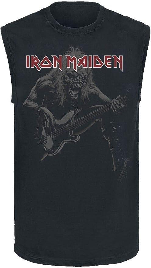 Iron Maiden Eddie Bass D/ébardeur Noir