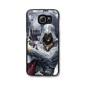 Ezio Auditore da Firenze D1W7GU9T Caso funda Samsung Galaxy S7 Edge Caso funda Negro