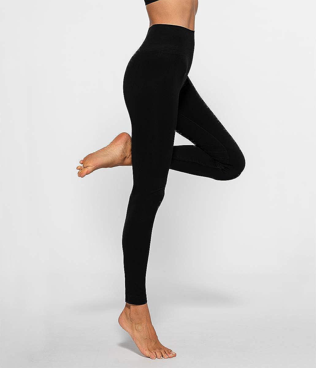 Leggings Sportivi Eleganti Donna Vita Alta