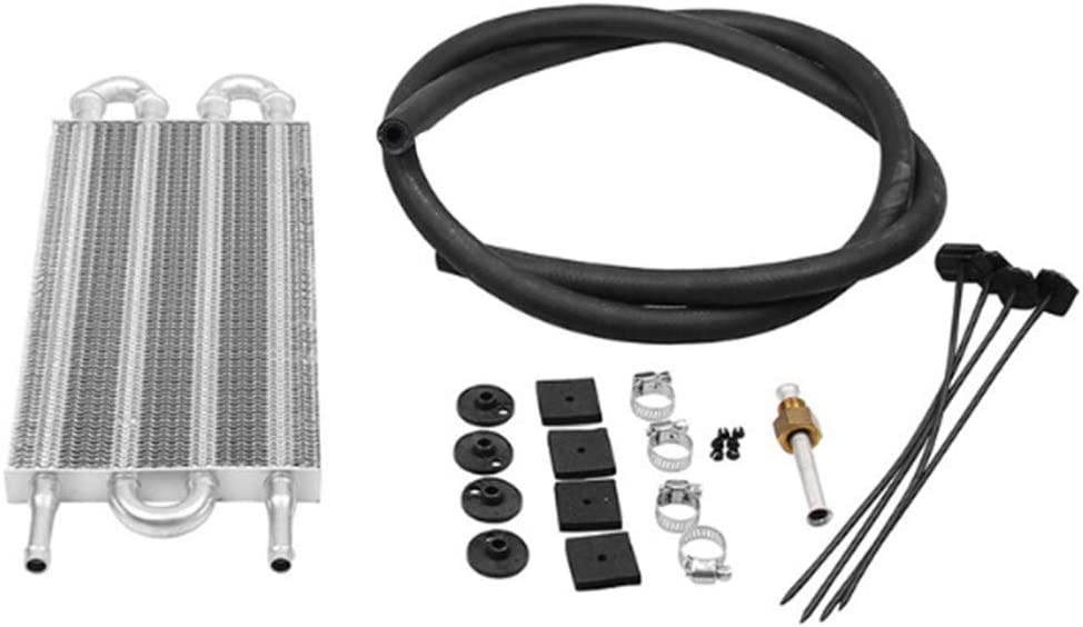 Universal Motor Getriebe Aluminium /Ölk/ühler K/ühler Konverter Kit 8-row tube Getriebe/ölk/ühler