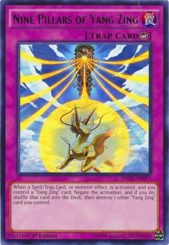 Yu-Gi-Oh! - Nine Pillars of Yang Zing  - Invasion: Vengeance