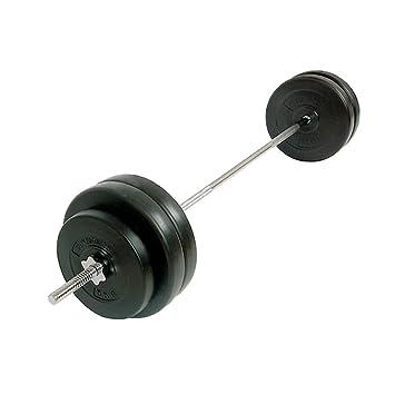 Physionics® - Barra de musculación con Discos de Pesas - 56,5 kg: Amazon.es: Deportes y aire libre