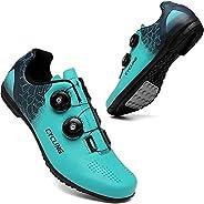Cycling Shoes Mens Womens Lock-Free MTB Shoes Road Bike Shoes Cycling Sneakers Unlocked Cycling Shoes