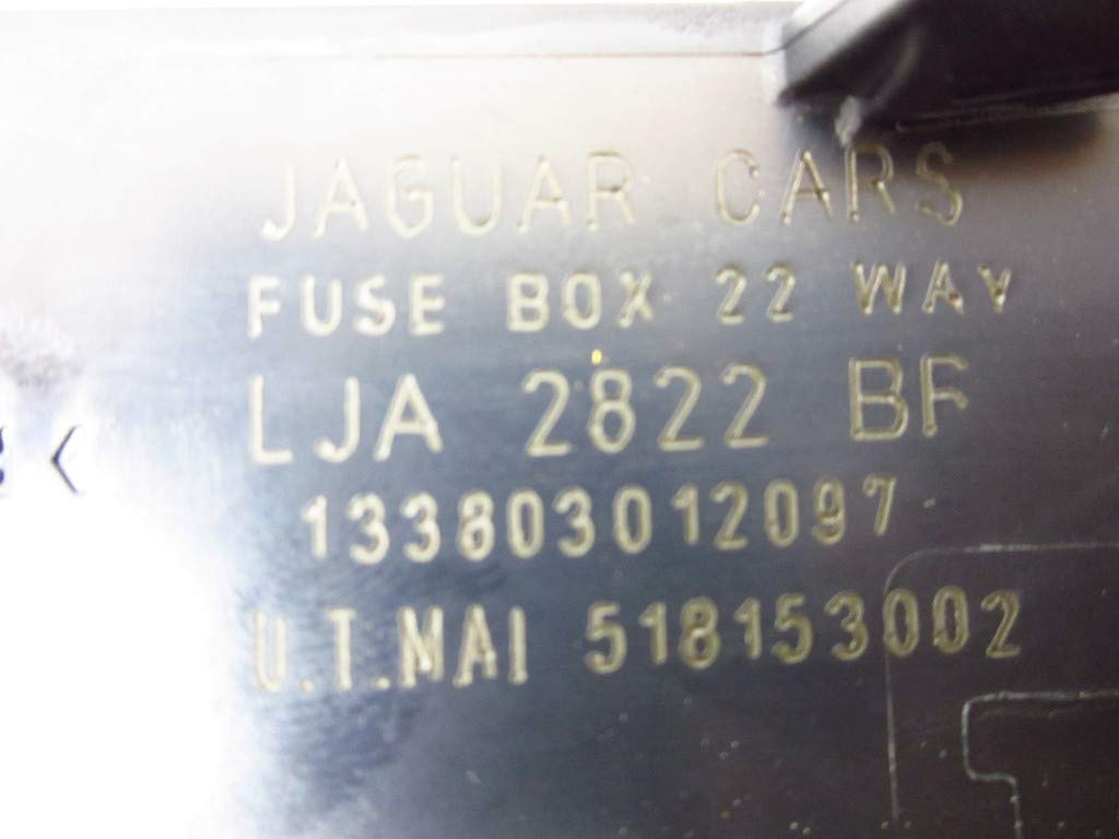 1997 Jaguar Xk8 Fuse Box Wiring Diagram Bots 2003 X Type Location Amazon Com Lja2822bf Automotive Porsche Boxster S